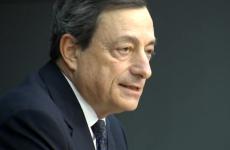 LIVE: ECB president Mario Draghi's press conference in Frankfurt