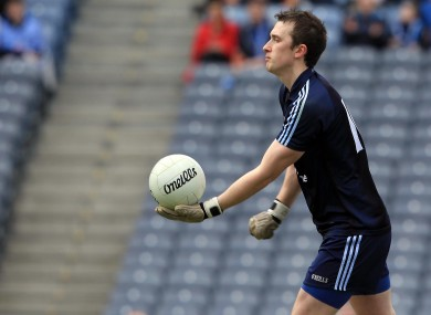 Michael Savage starts in goal for Dublin against Laois tomorrow night.