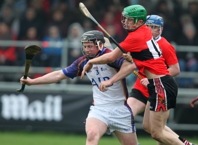 Limerick's Michael Walsh and Seamus Harnedy of Cork