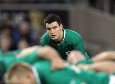 Jonathan Sexton in action against Scotland on Saturday.