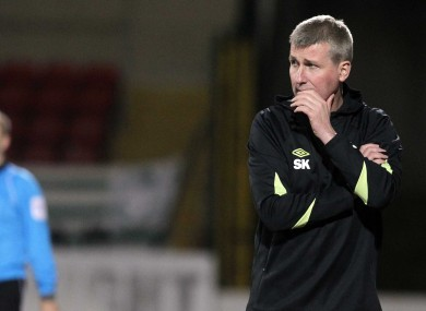 Rovers boss Stephen Kenny will be hoping his side can continue their decent start to the season.
