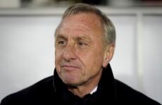 Cruyff turns: Barcelona legend slams 'sore losers' Real Madrid