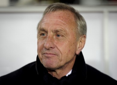 Johan Cruyff: there's no middle ground with Real.