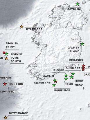 A Map From The Providence Resources Website Showing The Various Oil And Gas Prospects It Is