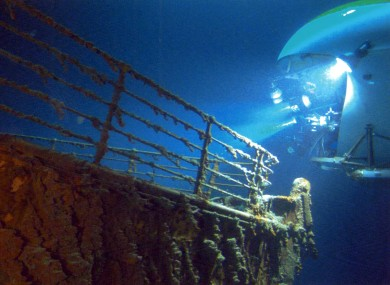 Ghosts of the Abysson travels to the wreck of the Titanic in two MIR submersibles
