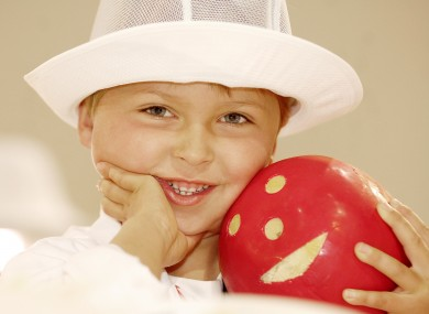 Sam Buckley in 'Cheese for Children' category at International Cheese Awards in 2006.