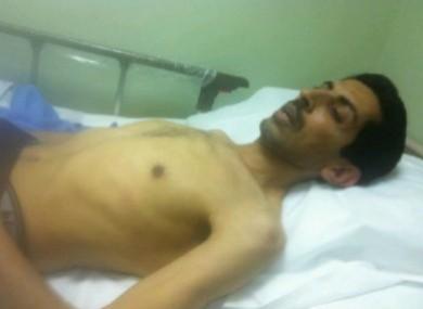 Bahraini activist Abdulhadi Al Khawaja.