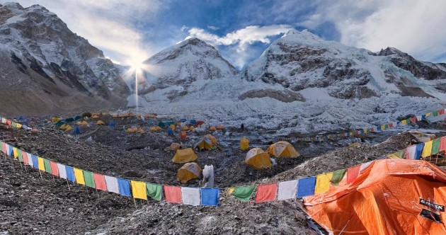 In pictures: Take an aerial tour of the Himalayas and Mount Everest