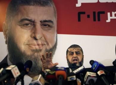 Egypt's Muslim Brotherhood presidential candidate Khairat el-Shater