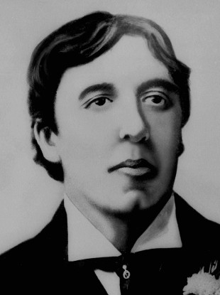 An undated picture of author Oscar Wilde.