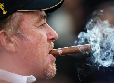 Spain's Miguel Angel Jimenez is known to enjoy the finer thin
