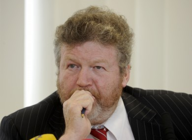 Fine Gael Minister for Health Dr James Reilly