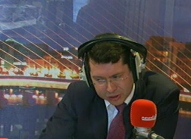 Rónán Mullen on Newstalk's Lunchtime programme today