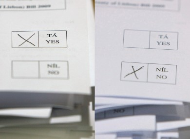 There are 58 days to go before Ireland votes Yes or No to the Fiscal Compact treaty.