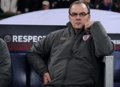 Marcelo Bielsa: on the brink.
