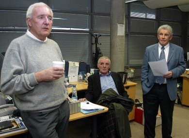 Bill O'Herlihy, John Giles and Eamon Dunphy all frequent