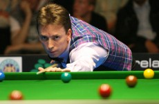 C'mon Ken! Here's the World Snooker Championship first round draw