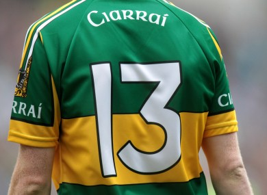 Colm Cooper: returns to the green and gold.