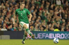 Dunne back in training with Aston Villa