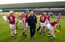 It's D-Day (again): Galway name team for relegation replay