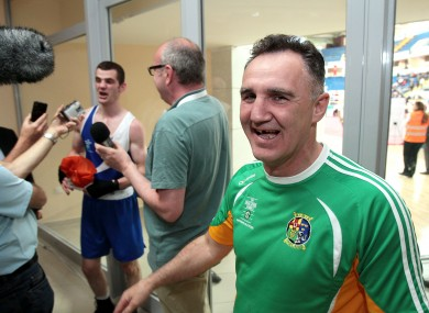 Billy Walsh: week ended on a high yesterday.