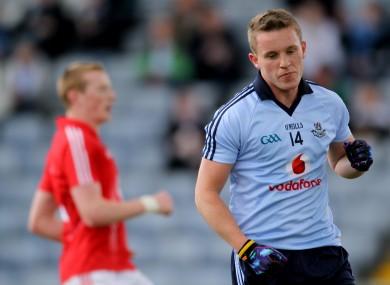 Dublin's Philip Ryan celebrates scoring his side's openin
