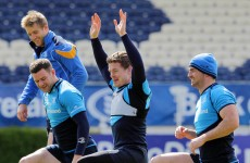 No news is good news: Injuries not a factor in Leinster's biggest week