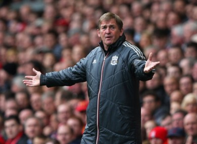 Kenny Dalglish: facing Everton at