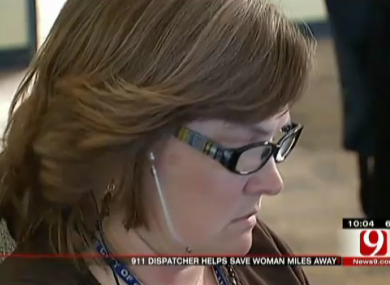 A dispatcher at the Oklahoma City emergency call centre