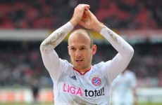 Happy man? Heynckes expects Robben to stay put