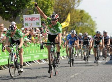 Gediminas Bagdonas: won the sprint.