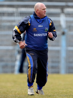 John Evans patrols the sideline in his last posting with Tipperary.