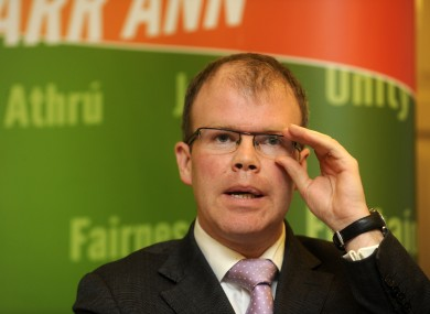 The legislation put forward by Sinn Féin's Peadar Toibín will be opposed in the Dáil tomorrow night.