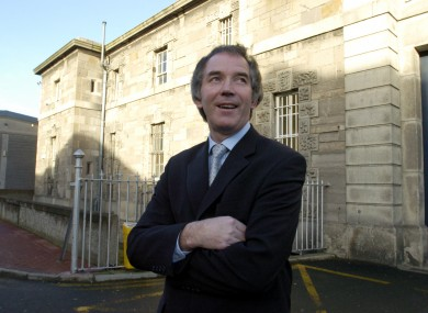 Fromer Governor of Mountjoy John Lonergan outside the prison (File photo)