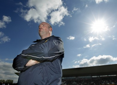 Offaly manager Ollie Baker.