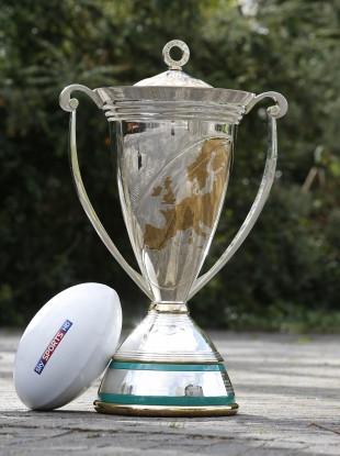 Impressive: The Heineken Cup trophy.