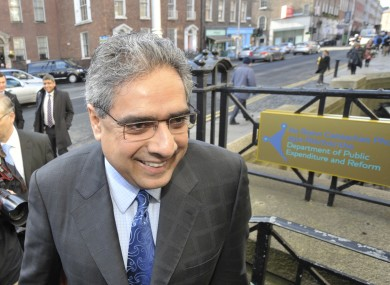 The IMF's Ajai Chopra visits Dublin as part of the Troika's latest review in April. The IMF has approved the latest batch of bailout loans.