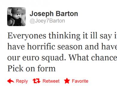 Barton has become notorious for his outspoken nature.