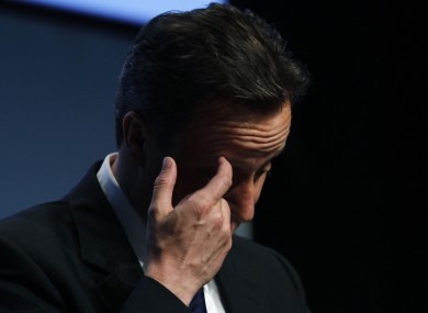 David Cameron accidentally left his 8-year-old daughter behind in a pub earlier this year, Downing Street has confirmed.