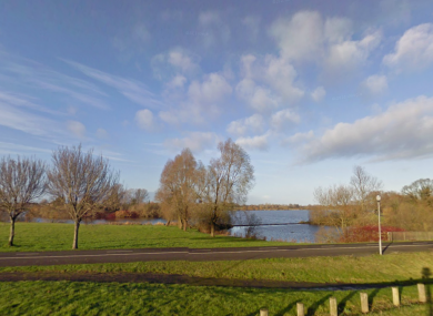 General view of Craigavon lake