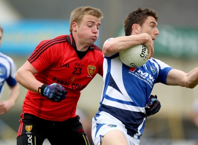 Arthur McConville in action during the National Football League.