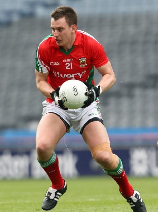 Mayo's Barry Moran is eager for action in Sunday's Connacht semi-final.