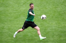 VIDEO: Robbie Keane and Glenn Whelan play Gaelic football in Poland…