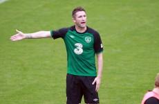 Keane calls on Irish to keep the faith