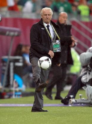 Ireland manager Giovanni Trapattoni.