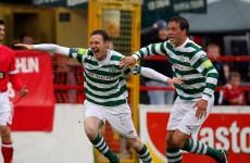 Twigg double helps Rovers edge past ten-man Shels