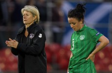 Irish women's team's qualification hopes ended following defeat