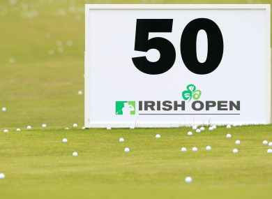 This year's Irish Open takes place at Royal Portrush.