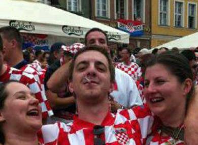Croatian girl has a two handed orga 3