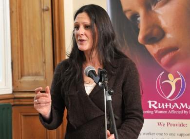 Sarah Benson of Ruhama